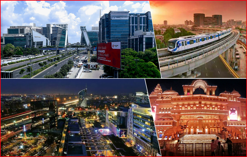 Gurgaon is one of the best city for finding jobs
