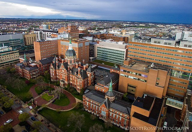 Johns Hopkins University Best Universities in the World