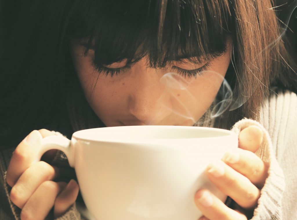 Face steam can help in getting rid of cough