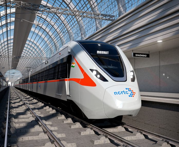 Design of India's first rapid train